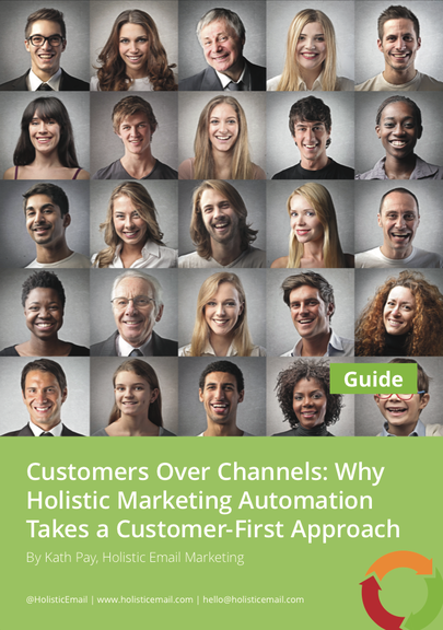 Cover of the Customers Over Channels Guide