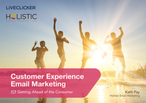 front cover of the Customer Experience Report